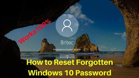 how to reset forgotten xpmuser password in windows xp mode how to reset forgotten windows 10 password youtube
