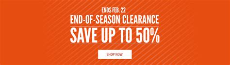 cabela s canada end of season clearance sale save up to