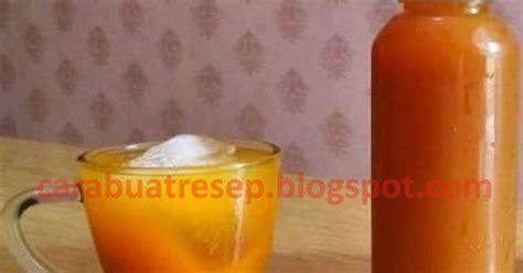cara membuat jamu kunyit asem yang enak cara membuat minuman sinom temulawak kunyit madu segar