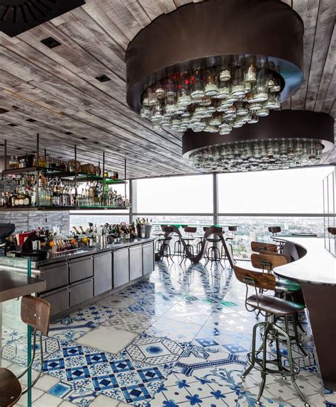 restaurant tile stunning project mandarin palladio blue mix decorative tiles duck and waffle