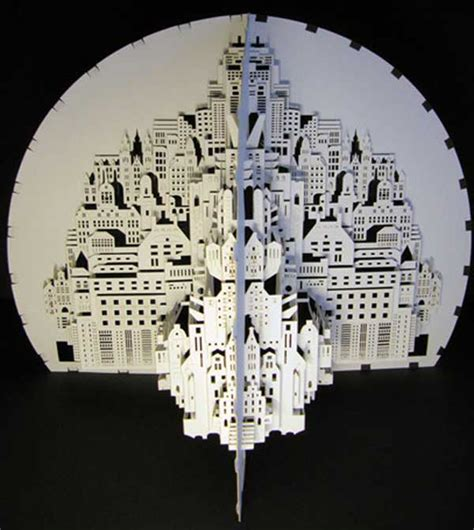 Ingrid Siliakus by Detailed Paper Architecture By Dutch Artist Ingrid
