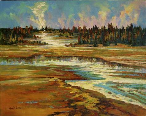 Landscape Paintings Usa 17 Images About Landscape Paintings By Gq Zheng On