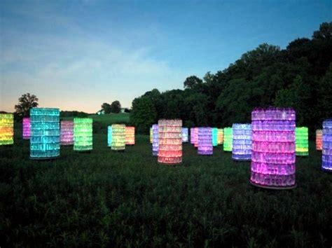 Outdoor Light Installation Modern Light Installation By Bruce Munro The Light As An Object Interior Design Ideas