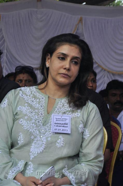 Picture 379916 | Lissy Priyadarshan at Tamil Stars Fasting ...