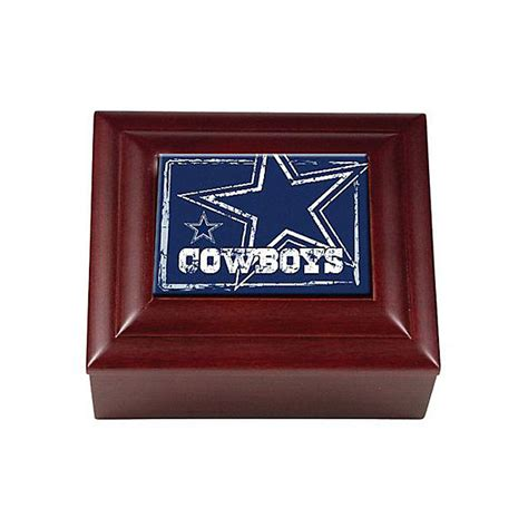 dallas cowboys wooden keepsake box home decor home