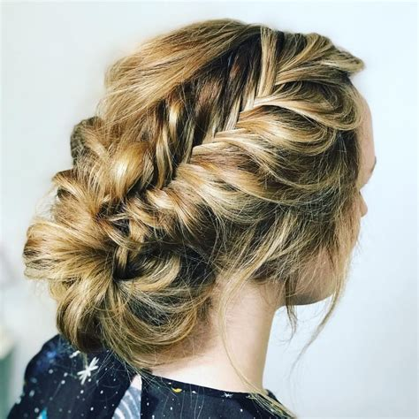 formal hairstyles messy bun with braid formal hairstyles messy bun with braid hairstyles