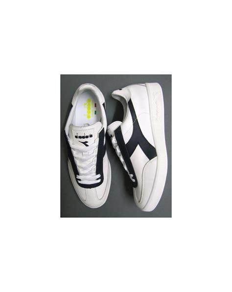 Sepatu Diadora Borg Elite diadora b original borg elite trainers white navy