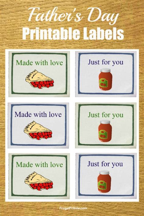 free food for fathers day fathers day free printable labels plus s day quotes