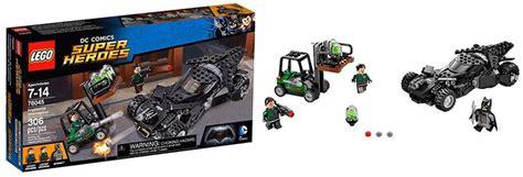 Lego Kryptonite Interception 76045 lego 76045 kryptonite interception i brick city