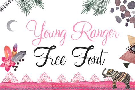 dafont young ranger dlolleys help young ranger free font