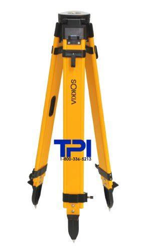 Tripod Total Station sokkia dual lock wood fiberglass tripod gps total station
