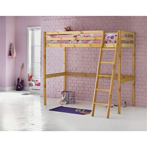 Argos Wooden Bed Frames Buy Home Wooden High Sleeper Single Bed Frame Pine At Argos Co Uk Your Shop For