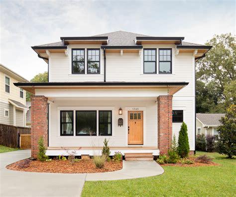 designers personal home craftsman exterior