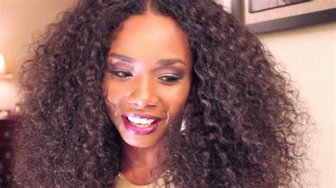 styles for curly brazillain hair review brown sugar hair co brazilian kinky curly hair youtube