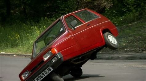 top gear clarkson blamed for reliant robin prank w