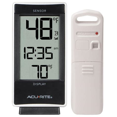 acurite backyard weather thermometer acurite digital thermometer with indoor outdoor