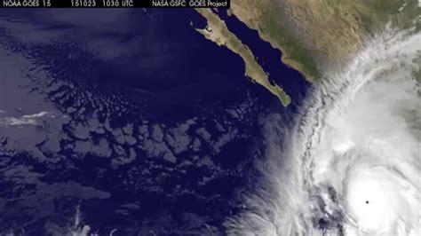 Imagenes Satelitales Del Huracán Patricia | el avance del hurac 193 n patricia en vista satelital youtube