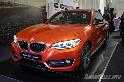 bmw 220i price bmw 2 series launched in malaysia 220i coupe price from
