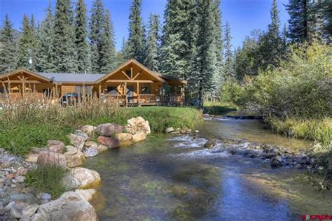 Vallecito Lake Cabins by 168 West Grimes Creek Drive Bayfield Co For Sale