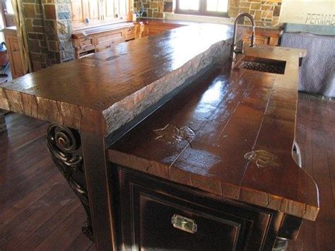 Wood Look Countertops by Looks Like Wood But It S Cement Wood Counters