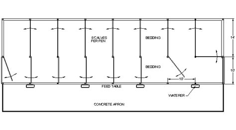 Small Barn Blueprints Facilities Drawings Pro Dairy Program