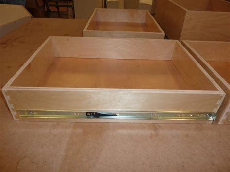 Building Drawers With Slides by How To Build Diy Kitchen Cabinets Dowelmax