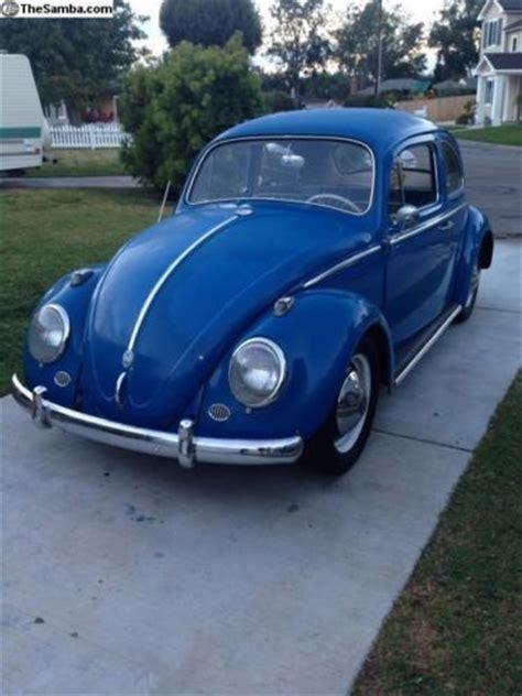 Volkswagen European Models by Sell Used 1960 Volkswagen V W European Model Beetle Bug