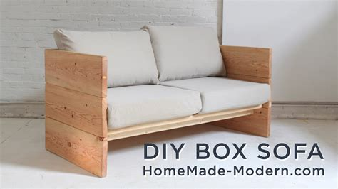 how to build a couch out of wood diy sofa made out of 2x10s youtube