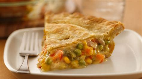 super easy chicken pot pie recipe from betty crocker