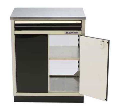 Open Base Cabinets by Proii Base Aluminum Cabinets For Garage Shop Moduline