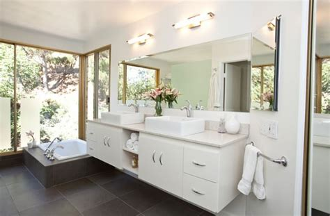 bathroom uses three white bathrooms three different styles rate your