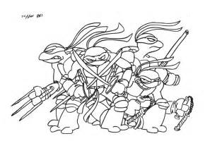 teenage mutant ninja turtle coloring pages coloring az ausmalbilder