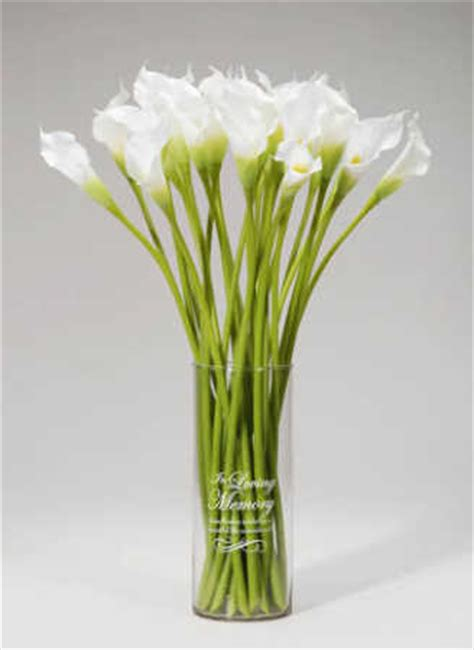 Memory Vases For Weddings by Quot In Loving Memory Quot Vase Static Cling Wedding Ceremony Ebay