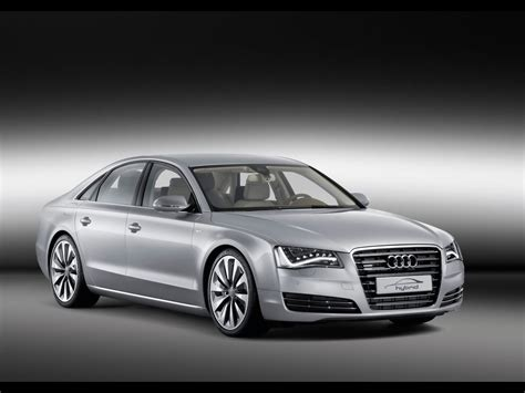 audi a8 2010 2010 audi a8 hybrid front and side 1920x1440 wallpaper