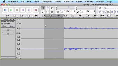 audio format for youtube how to use audacity to add silence to an audio file youtube