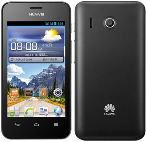 Handphone Huawei Ascend Y320 huawei y320 ascend black