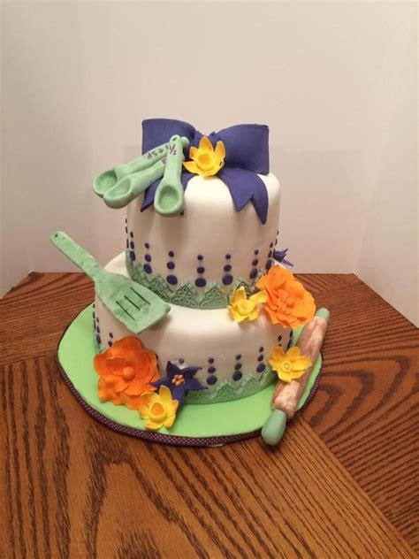 kitchen bridal shower cake ideas stock the kitchen bridal shower cake cakecentral