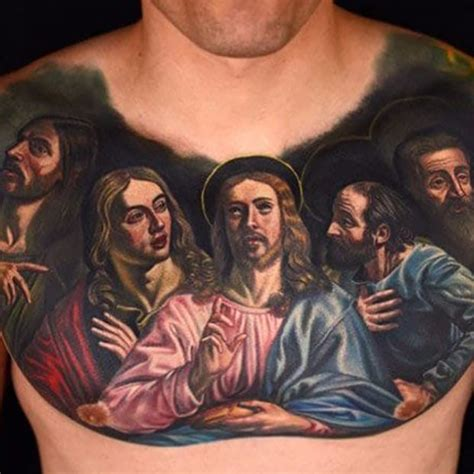 jesus icon tattoo you gotta have faith religious tattoos tattoodo