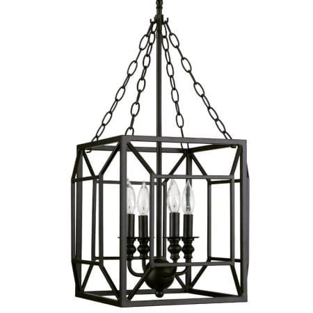 wood bead chandelier park harbor park harbor phpl5044orb rubbed bronze 14 quot wide 4 light single tier candle style chandelier