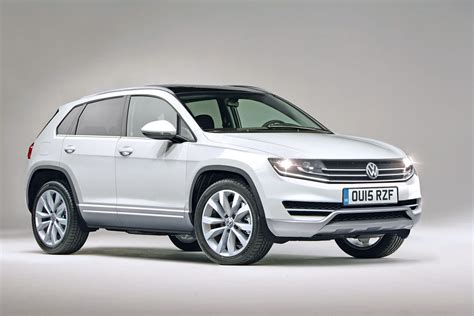 volkswagen suv 2015 chunky look for new vw tiguan 2015 auto express