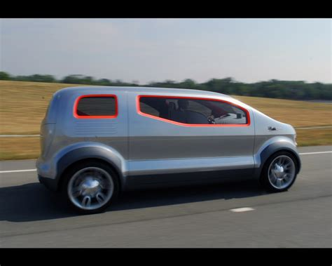 Ford Airstream Hybrid Comfort by Ford Airstream Hydrogen Fuel Cell Hybrid Concept 2007