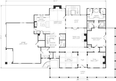 house of bryan floor plan ansley park timothy bryan llc southern living house plans