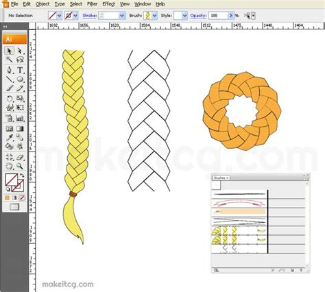 adobe illustrator create pattern brush tutorial how to create braid brush in adobe illustrator