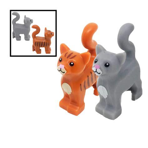 Sale Lego A Brick Animal Cat lego grey cat kitten pet for minifigures ebay