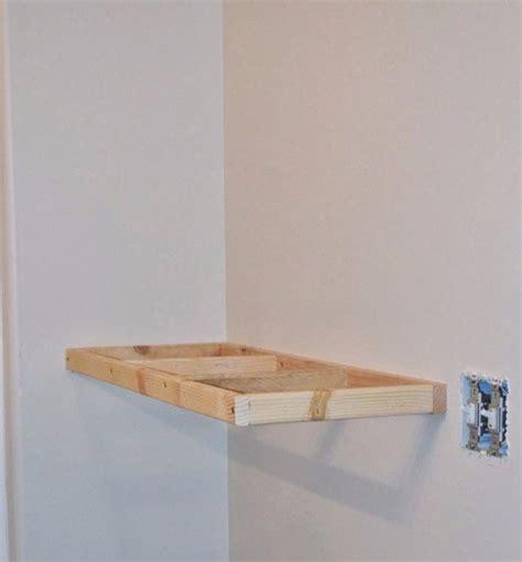 estantes flotantes de madera como hacer estantes flotantes todo manualidades