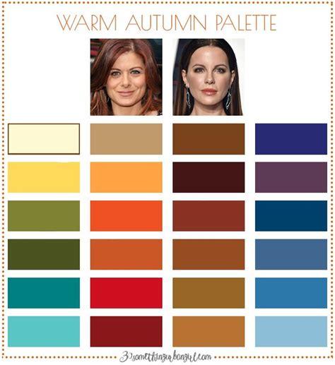 warm autumn color palette are you an autumn spring warm autumn autumn color