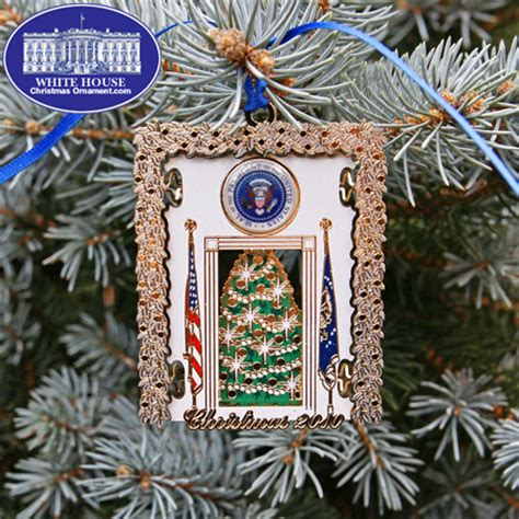 2010 secret service holiday ornament