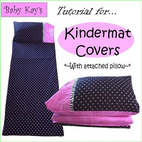 Nap Pad With Attached Pillow by Diy Tutorial For Kindermat Covers With Attached Pillow Pdf