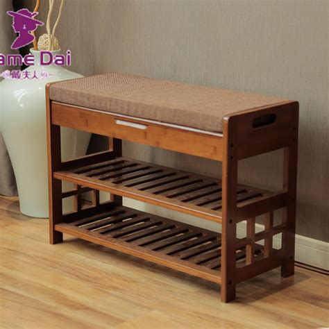 shoe storage for hallways aliexpress buy bamboo shoe rack bench storage