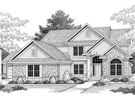 traditional 2 story house plans traditional house plans two story house design plans